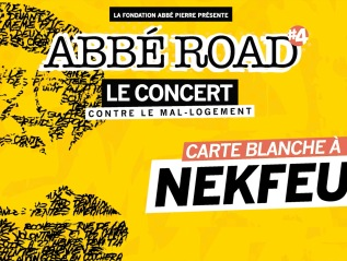 Concert Abbé Road – Carte blanche àNekfeu